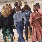 Fashion, Standing, Event, Street fashion, Outerwear, Fashion design, Gesture,