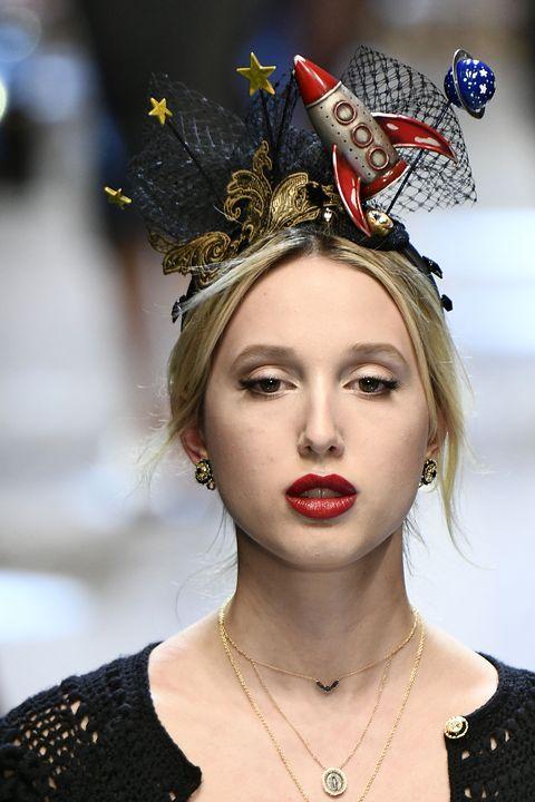 Lip, Eyebrow, Jewellery, Eyelash, Fashion accessory, Style, Hair accessory, Headgear, Headpiece, Costume accessory,