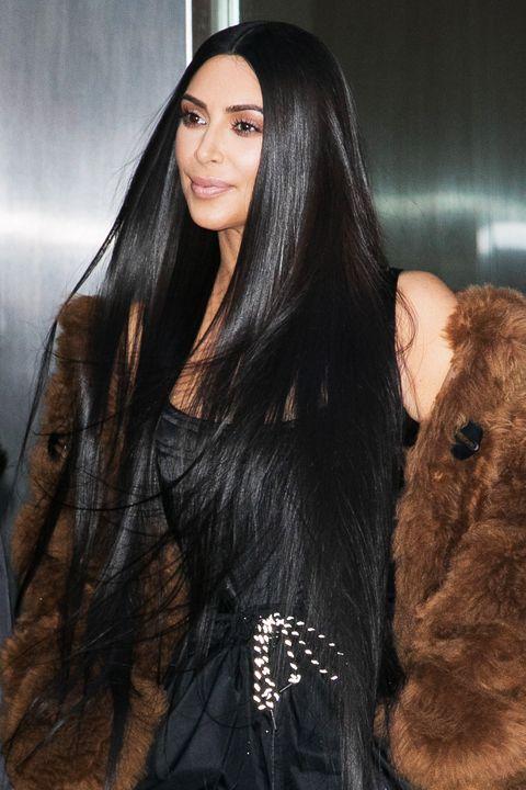 50 Best Kim Kardashian Hair Looks Kim Kardashian S