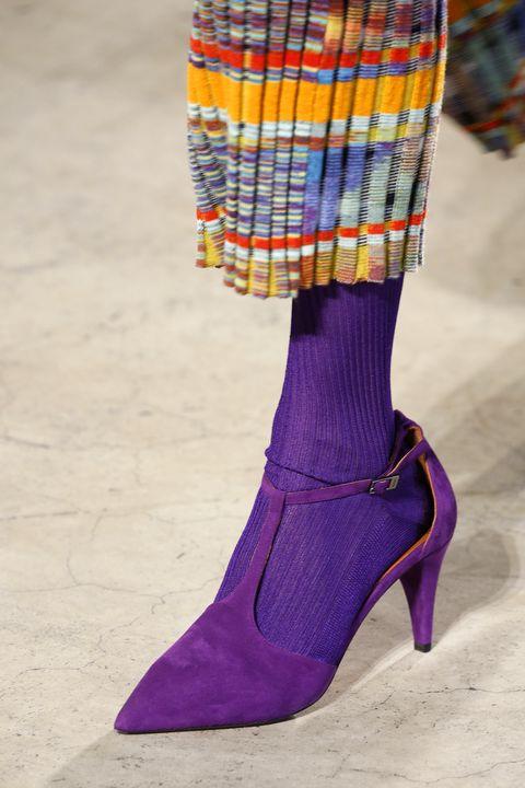 Purple, Violet, Magenta, Pattern, Fashion, Electric blue, Lavender, High heels, Basic pump, Tartan,