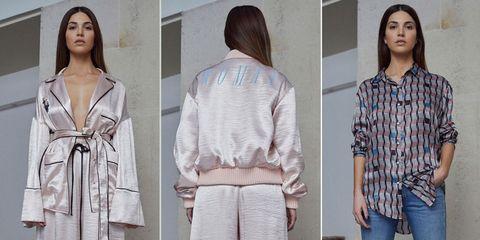 Clothing, Outerwear, Fashion, Sweater, Street fashion, Sleeve, Top, Neck, Jacket, Pattern,