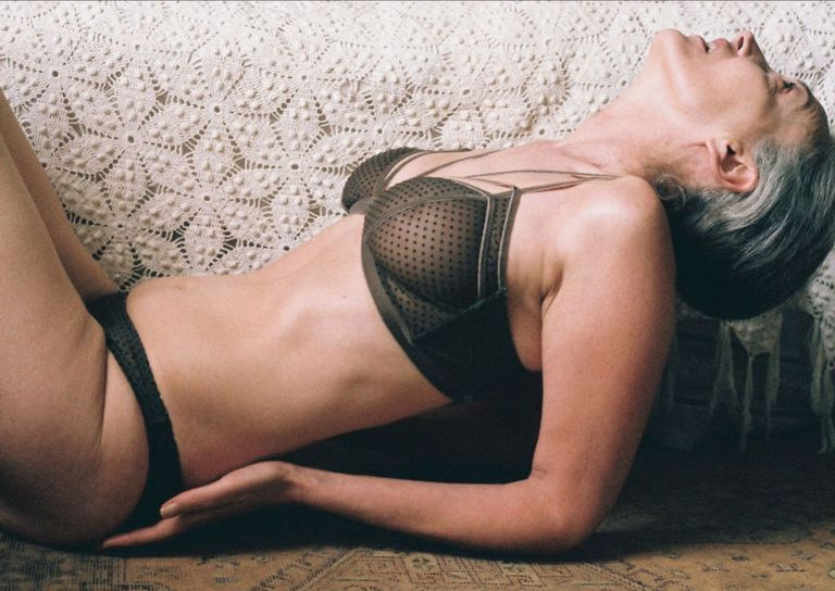 lonely lingerie features a 57-year-old model in its latest campaign