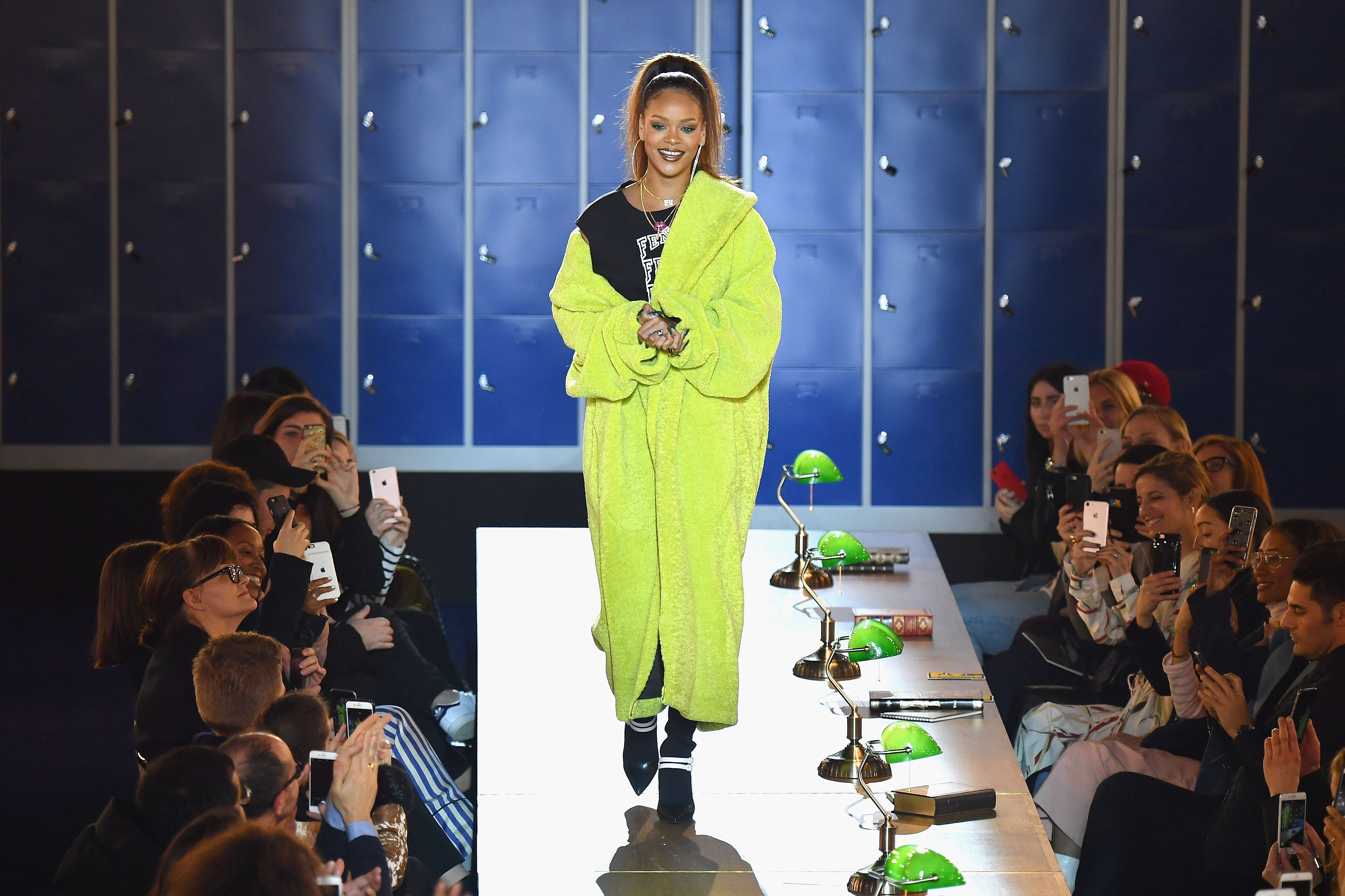 size 40 dd21d b4198 Rihanna Fenty x Puma Fall/Winter 2017 Paris Show Recap ...