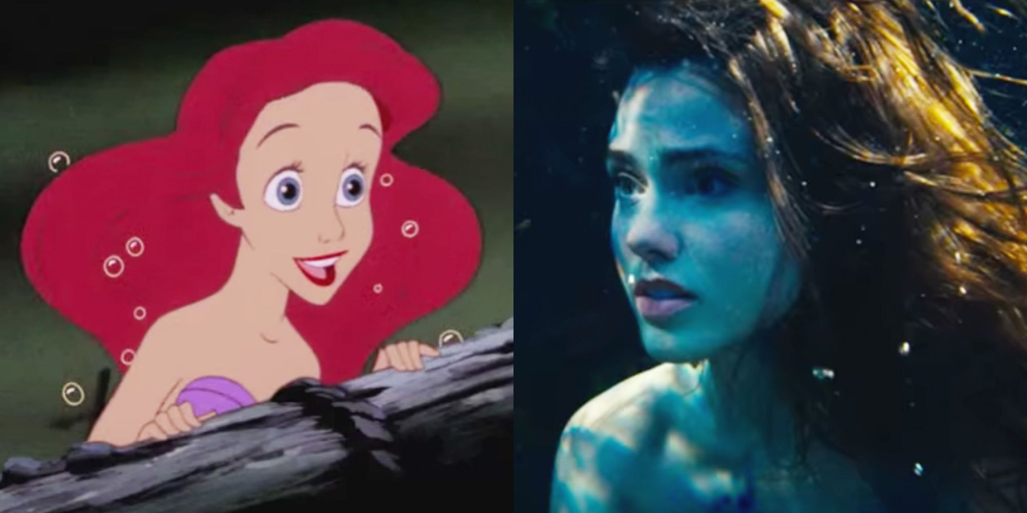10 biggest differences between the live action the little mermaid and disney version take a closer look at the new little mermaid trailer