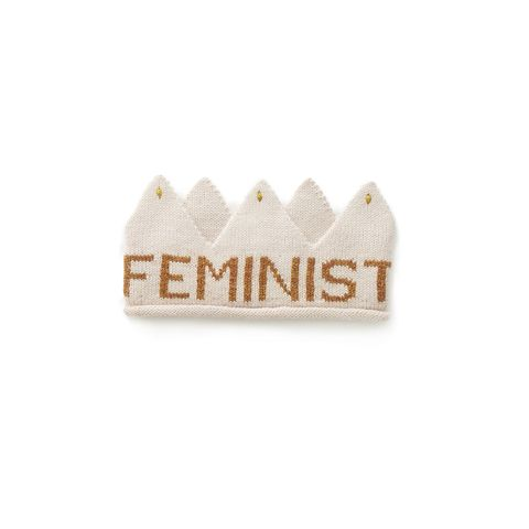 """<p>Starting on International Women's Day, 100 percent ofOeufonline sales will go to<a href=""""https://www.sanctuaryforfamilies.org/"""" data-tracking-id=""""recirc-text-link"""">Sanctuary for Families</a>. Throughout the month of March, 20 percentof Feminist Crown saleswill also go towards the same charity.</p><p><span class=""""redactor-invisible-space"""" data-verified=""""redactor"""" data-redactor-tag=""""span"""" data-redactor-class=""""redactor-invisible-space""""><em data-redactor-tag=""""em"""" data-verified=""""redactor"""">Oeuf Feminist Crown, $44;</em><a href=""""https://www.oeufnyc.com/feminist-crown-light-pink-gold.html"""" data-tracking-id=""""recirc-text-link""""><em data-redactor-tag=""""em"""" data-verified=""""redactor"""">oeufnyc.com</em></a></span></p>"""