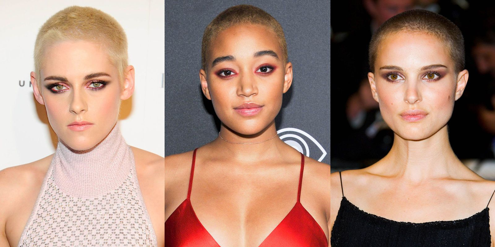 Pictures of women with shaved heads