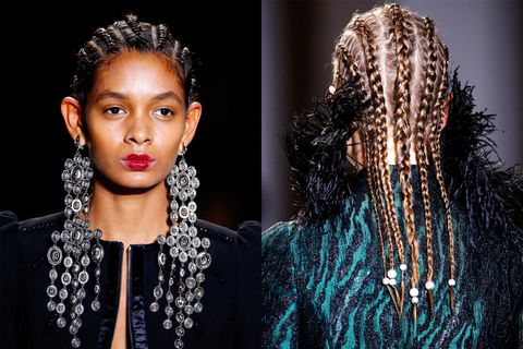 Fall Hair Trends 2017 Fall And Winter Hairstyles From The Nyfw Runway Elle