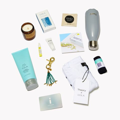 "<p>Theory and LOLA have teamed up to create a limited edition kit&nbsp;stocked with products like&nbsp;Organic Cotton&nbsp;Tampons from LOLA and&nbsp;a Revitalizing Day Moisturizer from goop.&nbsp;100 percent&nbsp;of all proceeds&nbsp;will benefit <a href=""https://girlswhocode.com/"" data-tracking-id=""recirc-text-link"">Girls Who Code</a>.&nbsp;</p><p><em data-redactor-tag=""em"" data-verified=""redactor"">Theory x LOLA Kit, $50; </em><a href=""http://www.theory.com/"" data-tracking-id=""recirc-text-link""><em data-redactor-tag=""em"" data-verified=""redactor"">theory.com</em></a><span class=""redactor-invisible-space"" data-verified=""redactor"" data-redactor-tag=""span"" data-redactor-class=""redactor-invisible-space""></span><span class=""redactor-invisible-space"" data-verified=""redactor"" data-redactor-tag=""span"" data-redactor-class=""redactor-invisible-space""></span></p>"