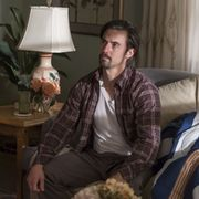 Milo Ventimiglia as Jack Pearson in the This Is Us season 1 finale 'Moonshadow'