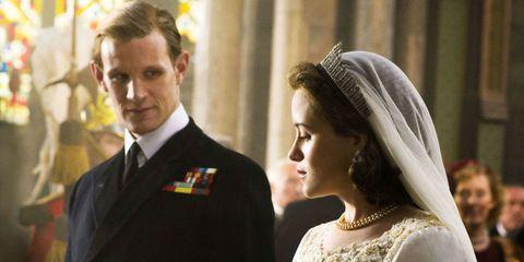 Clothing, Face, Head, Hairstyle, Collar, Bridal veil, Veil, Photograph, Coat, Bridal accessory,