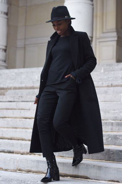 """<p>Adding edge to your outfit starts from the bottom up this spring. Drastic uneven hems on cropped jeans impartavant-garde French style, especially when worn with a bow heel and modern accents. One half of budding fashion duo <a href=""""https://www.instagram.com/labarbedelyly/"""" target=""""_blank"""" data-tracking-id=""""recirc-text-link"""">Lili & Pat</a> of <a href=""""https://www.labarbedelyly.com/"""" target=""""_blank"""" data-tracking-id=""""recirc-text-link"""">La Barbe de Lyly</a>, Songa knows <em data-redactor-tag=""""em"""">all</em> about power pairing. Her signature mix of tough and sweet takes this outfit from your street straight to the Champs-Élysées.</p>"""