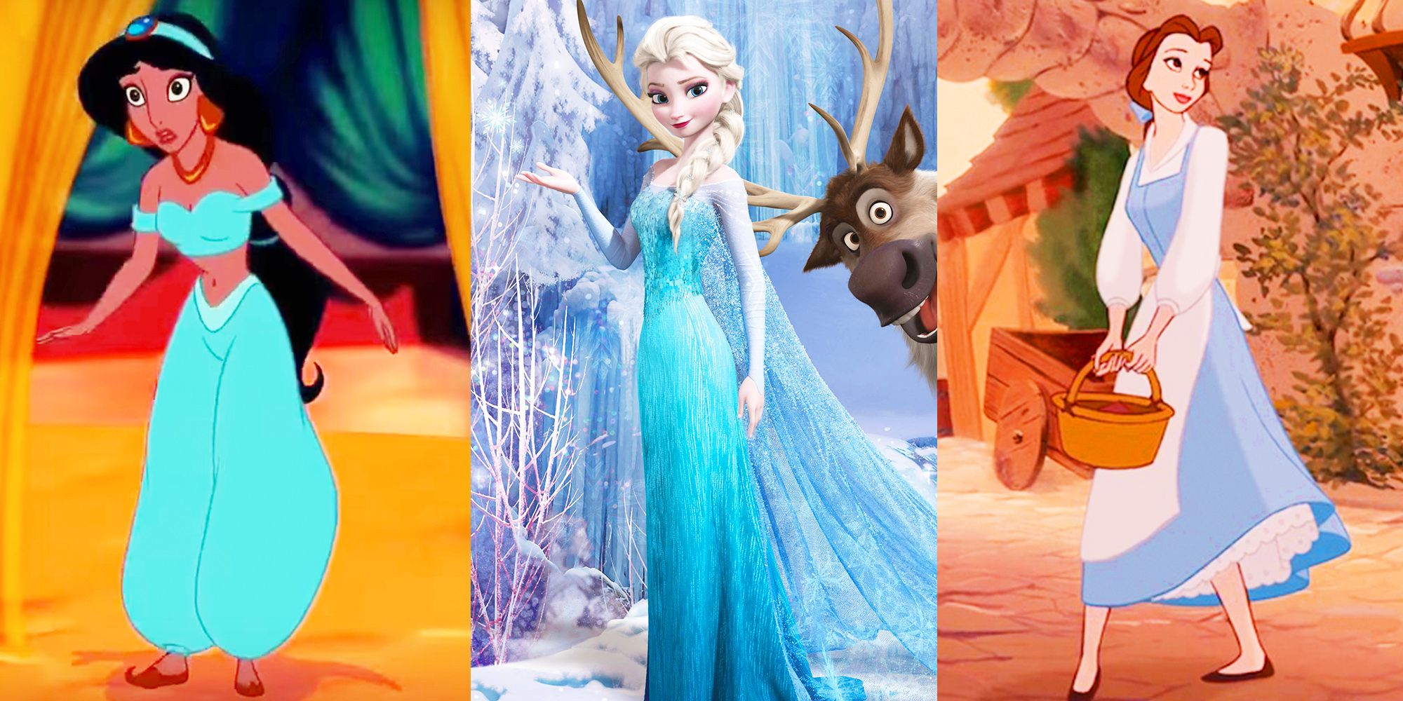 lovely Disney Princess Signature Colors Part - 16: Why Disney Princesses Wear Blue