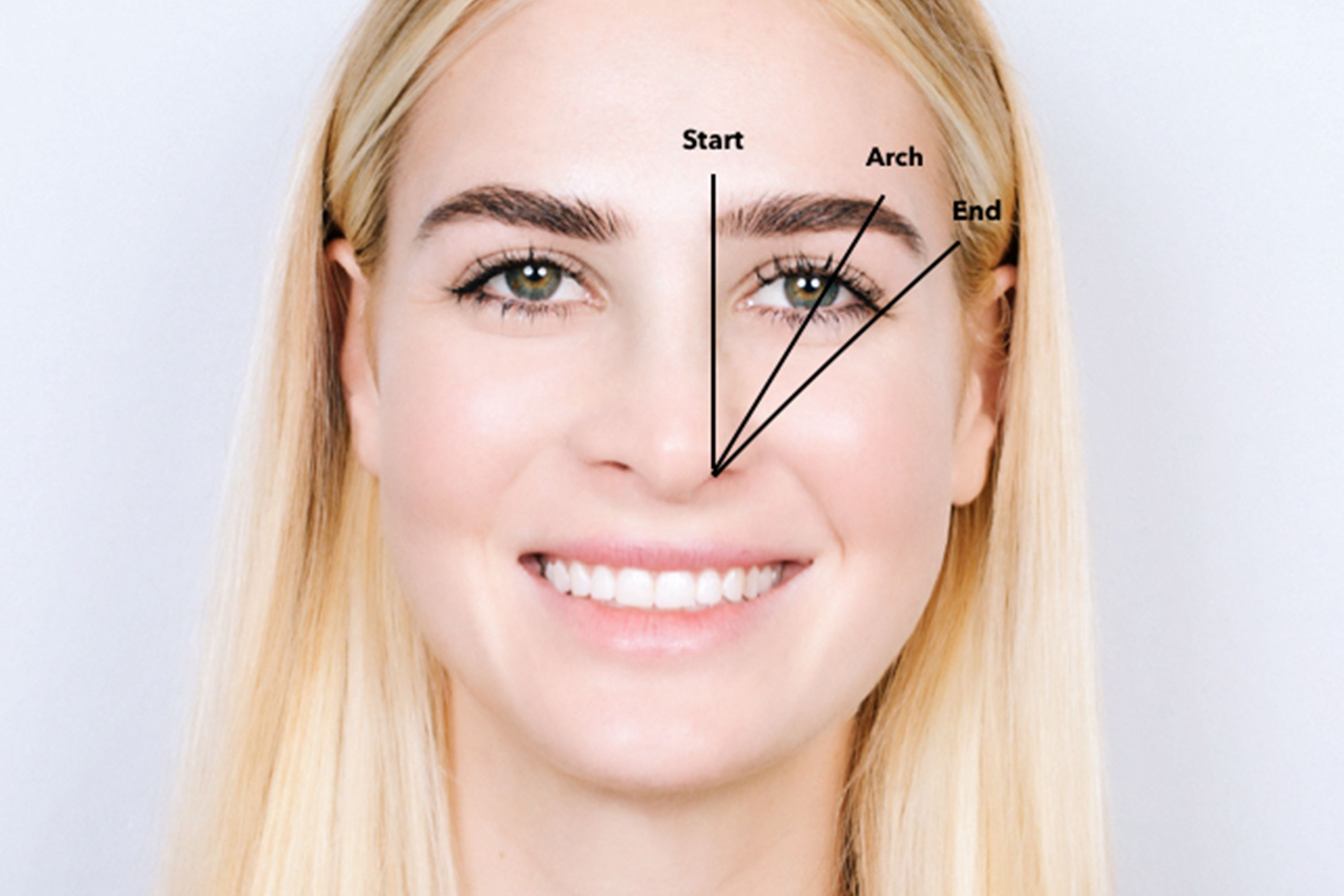 How to eyebrows shape pictures foto