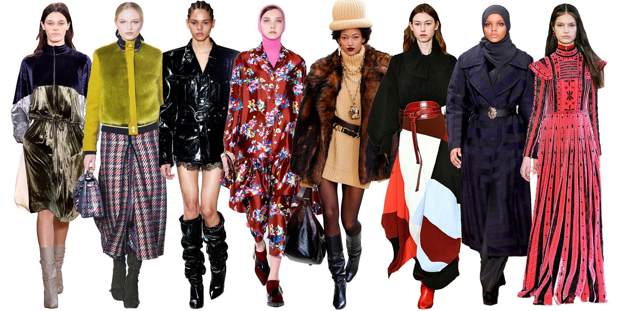96bf8987cdf62 Fall 2017 Fashion Trends - Guide to Fall 2017 Styles and Runway Trends