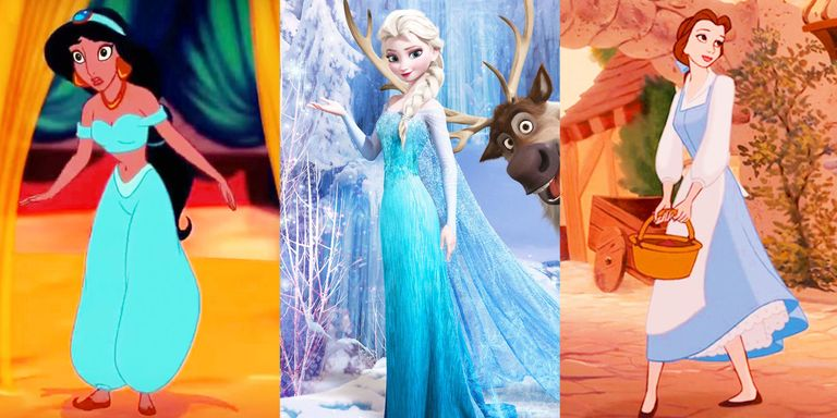 Why disney princesses wear blue disney princesses belle cinderella jasmine and ariel are all the badass heroines we admired growing up but their fearless attitudes and compassionate thecheapjerseys Image collections