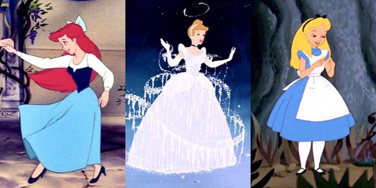 Alasan Mengapa Putri Disney Selalu Memakai Baju Biru!