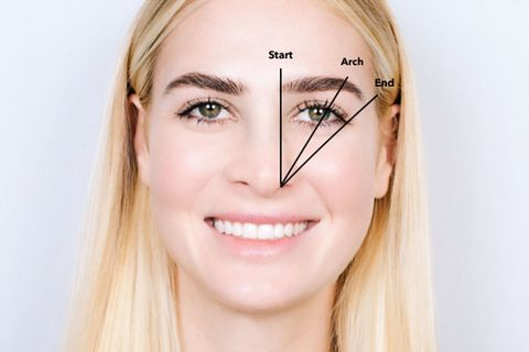 How to Shape Eyebrows - 11 Tips for the Perfect Eyebrow Shape