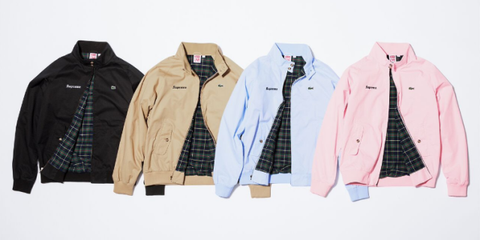 35c832e4 Following their much-hyped Louis Vuitton collaboration that debuted during  Men's Fashion Week in January, Supreme is joining forces with Lacoste for  Spring ...