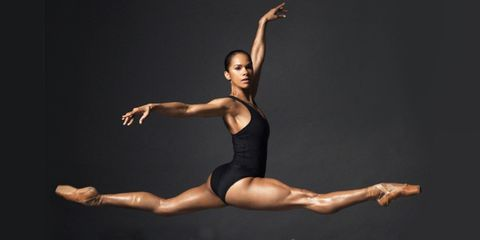 Athletic dance move, Dancer, Ballet, Choreography, Dance, Sportswear, Performing arts, Ballet dancer, Leotard, Physical fitness,