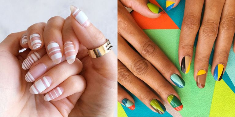 From asymmetrical French and emoji embellishment to glitter accents and  graphic designs, summer '17 nails are anything but understated. Here, art  ... - 12 Cool Summer Nail Art Designs - Easy Summer Manicure Ideas