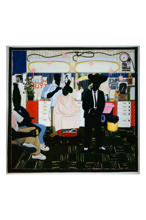 "<p>Kerry James Marshall: Mastry, a retrospective&nbsp;of mural-like paintings that focus on everyday scenes from&nbsp;African American life with tongue-in-cheek nods to the&nbsp;great classics of Western art—such as De Style (1993), at&nbsp;right, in which a barber is haloed like a saint—is the most&nbsp;beautiful, inspiring exhibit I've ever seen. I visited the show&nbsp;multiple times when it was at the Met Breuer in New York.&nbsp;West Coast readers, you're in luck: It's now open at the&nbsp;Museum of Contemporary Art, Los Angeles, through July 3.<span data-redactor-tag=""span""></span></p>"