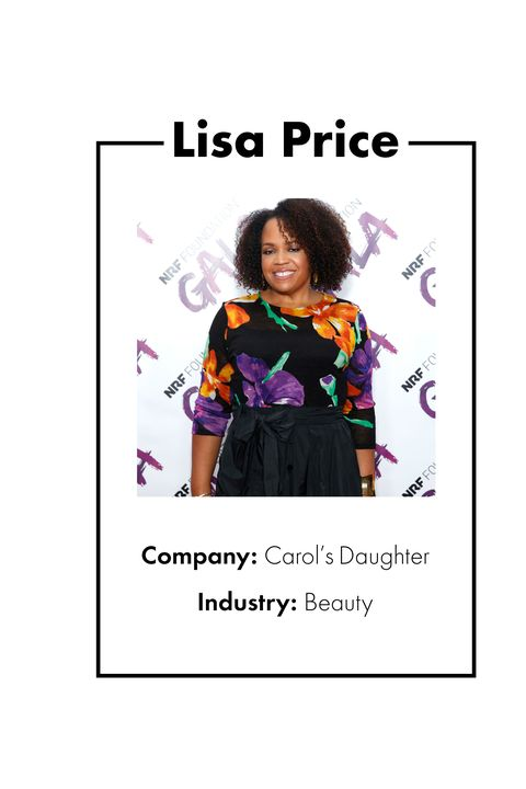 """<p>Lisa Price's homespun creation of beauty line <a href=""""http://www.carolsdaughter.com/"""" target=""""_blank"""" data-tracking-id=""""recirc-text-link"""">Carol's Daughter</a> is a famous&nbsp;story: While working in television, Price launched the line in 1993 out of her Brooklyn kitchen as a hobby, initially selling skin creams and hair products at craft fairs and flea markets. The brand, named for Price's mother, has grown exponentially since then and become a multi-million dollar empire. In 2014, L'Oreal USA bought Carol's Daughter, proving that if you put your passion and love into an endeavor it will eventually pay off big time–and not just monetarily. </p>"""