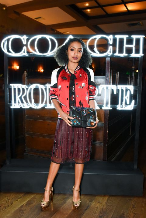 "<p>At the Coach &amp; Rodarte celebration for their Spring 2017 Collaboration at Musso &amp; Frank on March 30, 2017 in Hollywood.&nbsp;<span class=""redactor-invisible-space"" data-verified=""redactor"" data-redactor-tag=""span"" data-redactor-class=""redactor-invisible-space""></span><span class=""redactor-invisible-space"" data-verified=""redactor"" data-redactor-tag=""span"" data-redactor-class=""redactor-invisible-space""></span></p>"