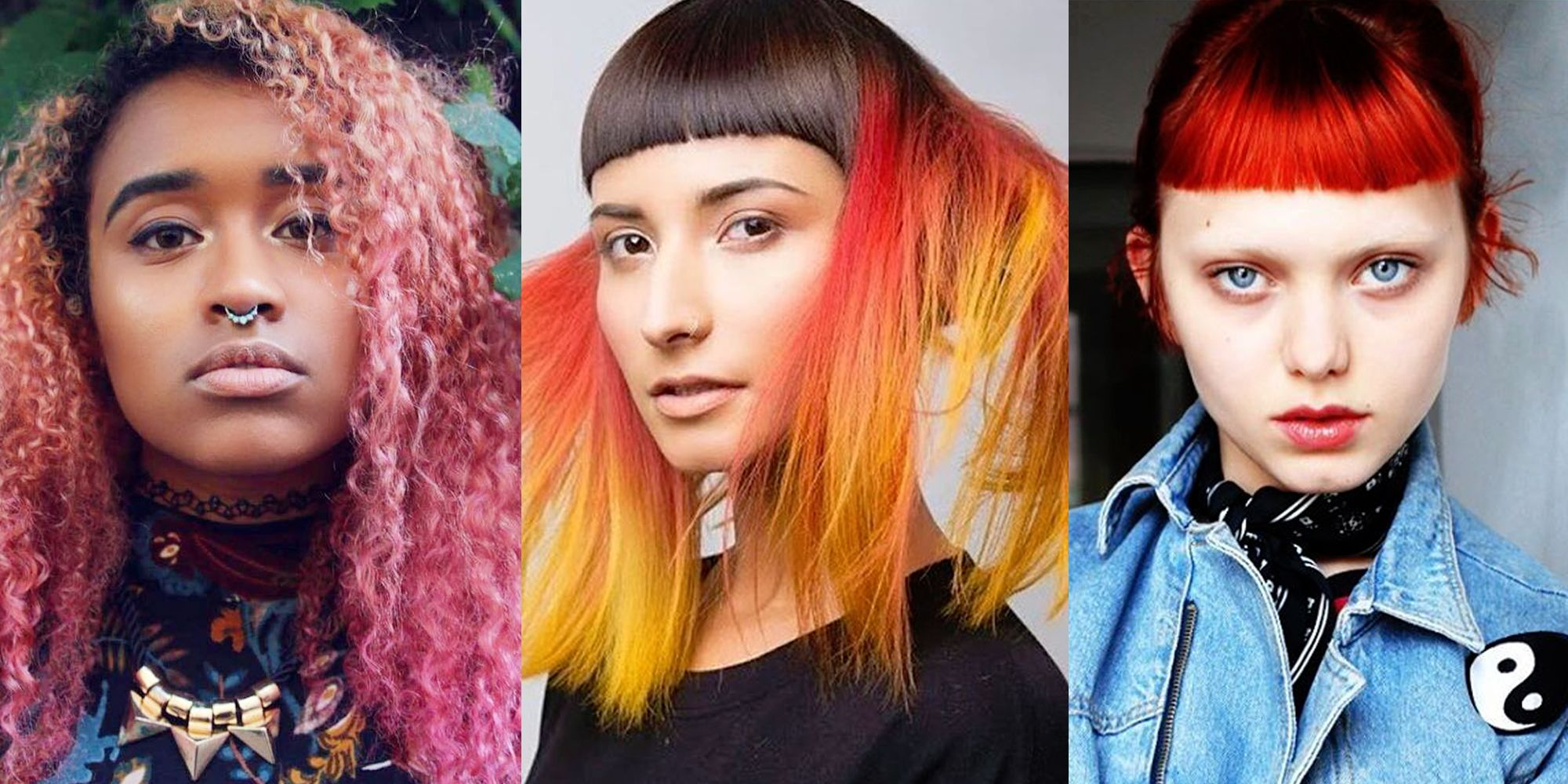 Best Hair Colors Of 2018 Blonde Brown And Red Hair Shades