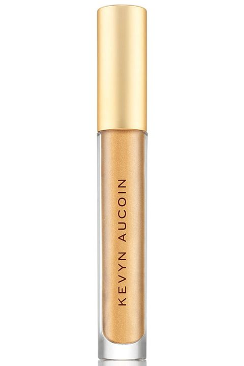 """<p>It was Goldmember in the 2002 Austin Powers film who said, """"I love&nbsp;goooooold! The look of it! The&nbsp;taste of it! The smell of it! The texture!"""" We feel the exact same way about this slick, metallic lipstick—it's practically dripping wet with yellow-gold pigment.<span class=""""redactor-invisible-space"""" data-verified=""""redactor"""" data-redactor-tag=""""span"""" data-redactor-class=""""redactor-invisible-space""""></span></p><p><strong data-redactor-tag=""""strong"""" data-verified=""""redactor"""">Kevyn Aucoin</strong>&nbsp;The Molten Lip Color:&nbsp;Molten Metals in Gold, $30.00, <a href=""""http://www.neimanmarcus.com/Kevyn-Aucoin-The-Molten-Lip-Color-150-Molten-Metals/prod199670015/p.prod?ecid=NMCS__GooglePLA&amp;utm_medium=CSE&amp;utm_source=NMCS__GooglePLA"""" target=""""_blank"""" data-tracking-id=""""recirc-text-link"""">neimanmarcus.com</a>.</p>"""