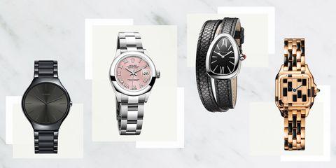 Watch, Analog watch, Watch accessory, Fashion accessory, Brand, Jewellery, Strap, Material property, Font, Steel,
