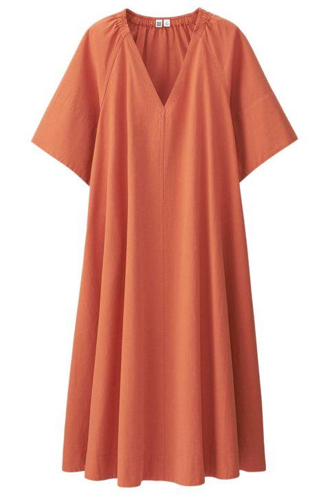 "<p> Uniqlo U Seersucker Short Sleeve Dress, $30; <a href=""https://www.uniqlo.com/us/en/women-u-seersucker-short-sleeve-dress-196470.html?dwvar_196470_color=COL40&amp;cgid=women-dresses-and-jumpsuits#start=14&amp;cgid=women-dresses-and-jumpsuits"">uniqlo.com</a></p><p><span class=""redactor-invisible-space"" data-verified=""redactor"" data-redactor-tag=""span"" data-redactor-class=""redactor-invisible-space""></span></p>"