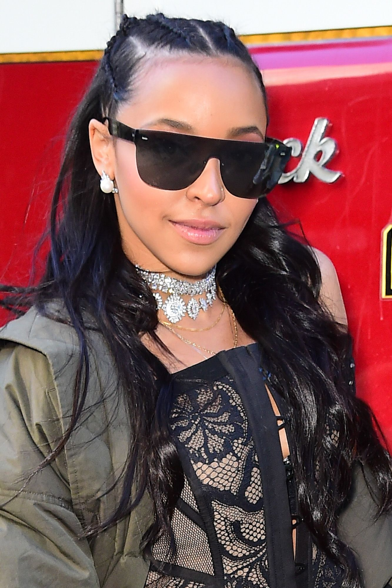 Tinashe Tinashe's front cornrows are perfect for summer, as they give off a relaxed California vibe.