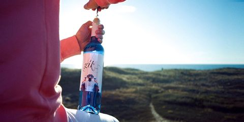 Yes, Soon You'll Be Able to Buy a Bottle of Blue Wine