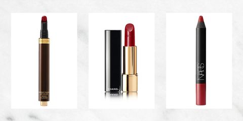 7 ELLE Editors Discuss Their Favorite Red Lipsticks