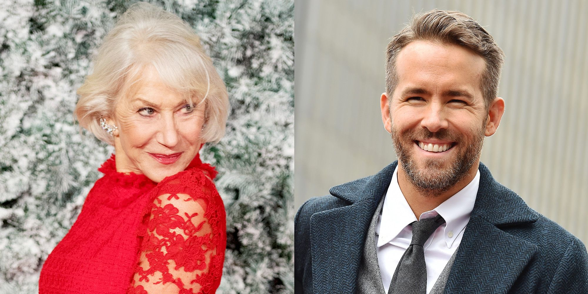 Helen Mirren Just Wrote Something About Ryan Reynolds That Made Us Blush