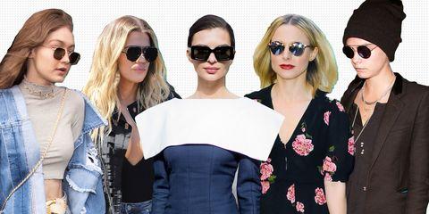 Eyewear, Sunglasses, Hair, Glasses, Fashion, Beauty, Skin, Shoulder, Cool, Vision care,