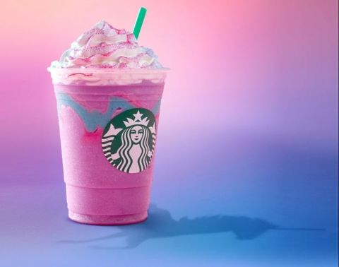 Pink, Food, Milkshake, Drink, Frappé coffee, Cream, Non-alcoholic beverage, Dessert, Whipped cream, Smoothie,