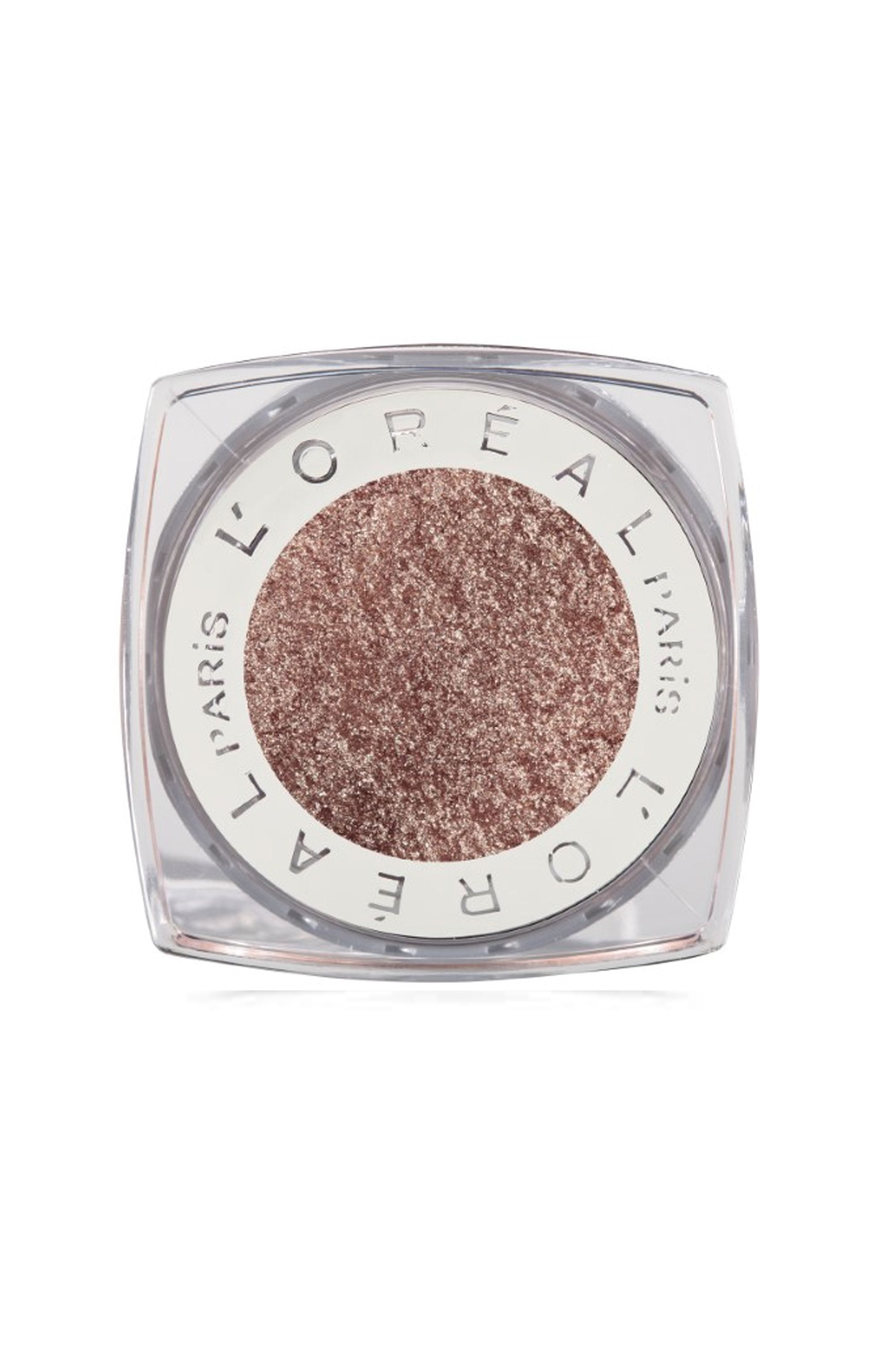 "<p>Oooh, shiny. Metallics are summer perfection as they play up glowing sun-kissed skin. ""Golds, bronzes and coppers bring out the blue because the warmth sparks the cool,"" says makeup artist Tina Turnbow.</p><p>L'Oreal Paris Infallible 24HR Eye Shadow; $6.99, <a href=""http://www.target.com/p/l-oreal-paris-infallible-24hr-eye-shadow/-/A-13887152"" target=""_blank"" data-tracking-id=""recirc-text-link"">target.com</a></p>"