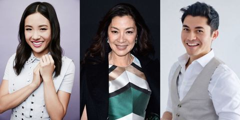 see everyone cast in the crazy rich asians movie
