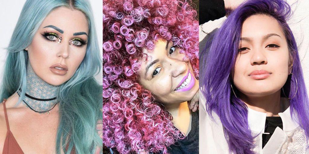 How 6 Women Maintain Their Unicorn Hair