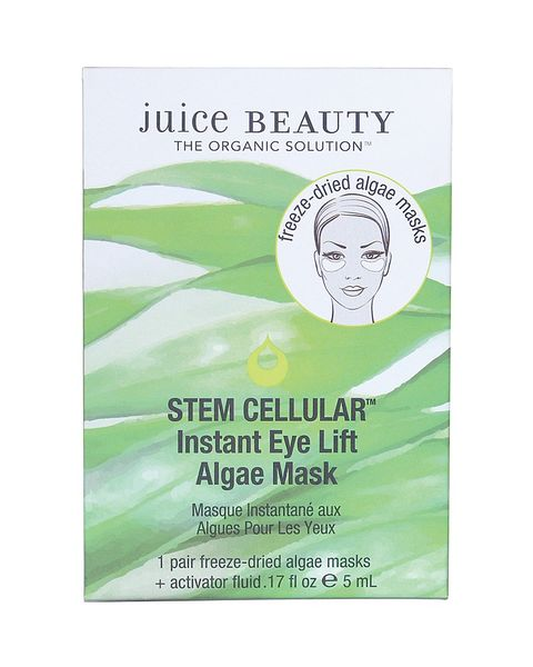 """<p>""""Juice Beauty makes an algae face mask, and if I'm on a really long flight&nbsp;I'll put it on while I'm watching a movie. It's really brilliant, made with organic ingredients, and very hydrating. I just sit there looking a little weird on the plane. I also always travel with a bottle of colloid silver which I spray under my tongue and on the airplane seat because they say it wards off germs. I always take a bunch of vitamin C, and I buy multiple&nbsp;bottles of water before I get on the plane.""""</p><p><em data-redactor-tag=""""em"""" data-verified=""""redactor"""">Juice Beauty&nbsp;Instant Eye Lift Algae Mask</em><span class=""""redactor-invisible-space"""" data-verified=""""redactor"""" data-redactor-tag=""""span"""" data-redactor-class=""""redactor-invisible-space""""><em data-redactor-tag=""""em"""" data-verified=""""redactor"""">, $10; </em><a href=""""https://www.juicebeauty.com/skincare/shop-by-category/peels-exfoliators-and-masks/stem-cellular-instant-eye-lift-algae-mask-single"""" target=""""_blank"""" data-tracking-id=""""recirc-text-link""""><em data-redactor-tag=""""em"""" data-verified=""""redactor"""">juicebeauty.com</em></a></span></p>"""