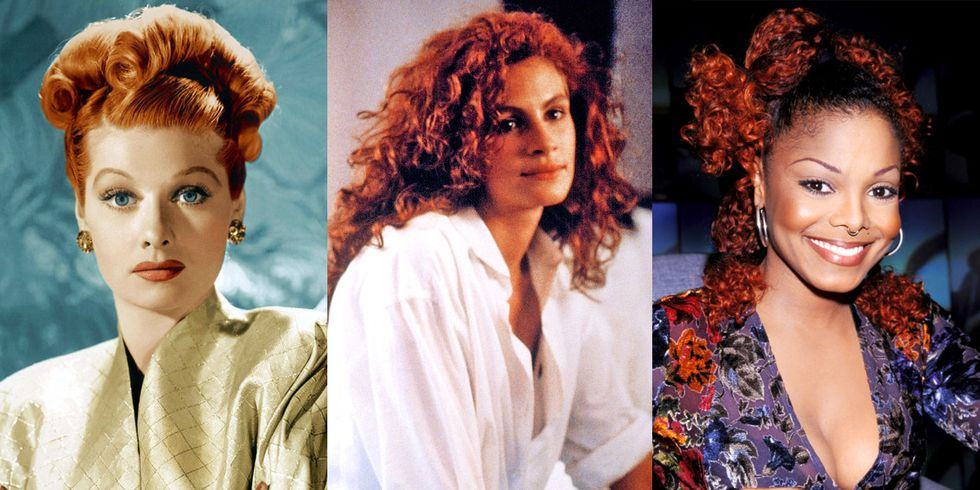 The 50 Most Iconic Red Hair Moments of All Time
