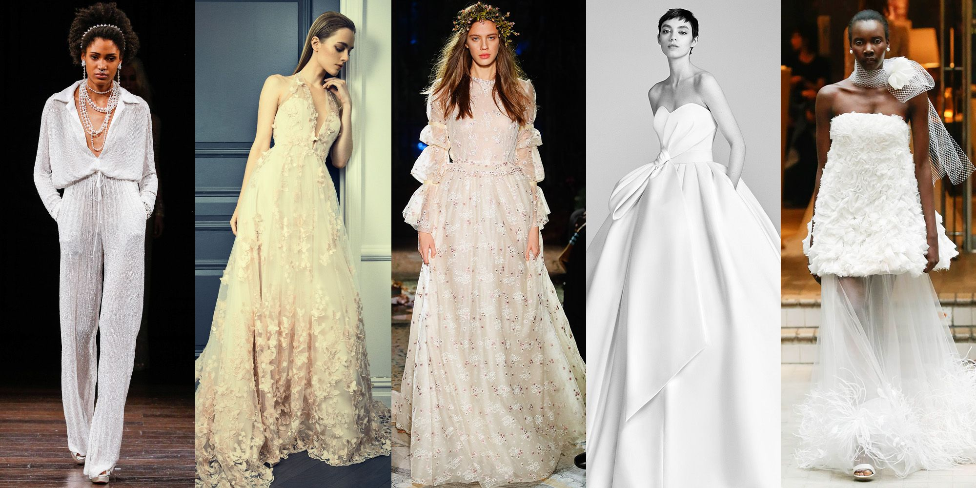 Wedding Style - Wedding Dresses, Hair, and Beauty - ELLE