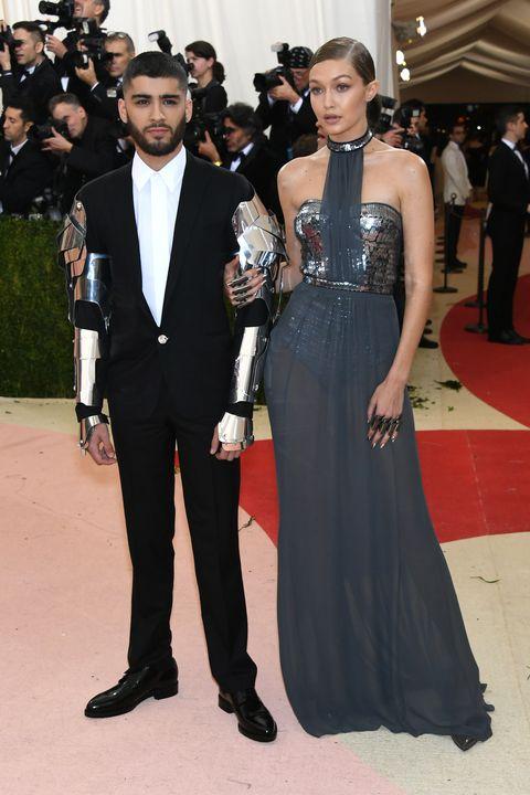 Gigi Hadid in Tommy Hilfiger Dress at the Met Gala 2017 - Gigi Hadid ...