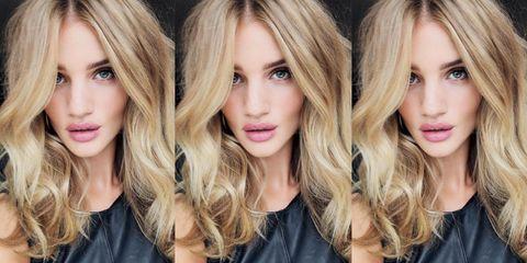 Hair, Blond, Face, Hairstyle, Hair coloring, Long hair, Eyebrow, Brown hair, Beauty, Lip,