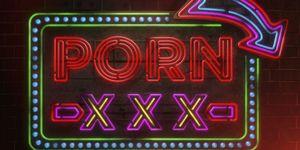 porn neon sign