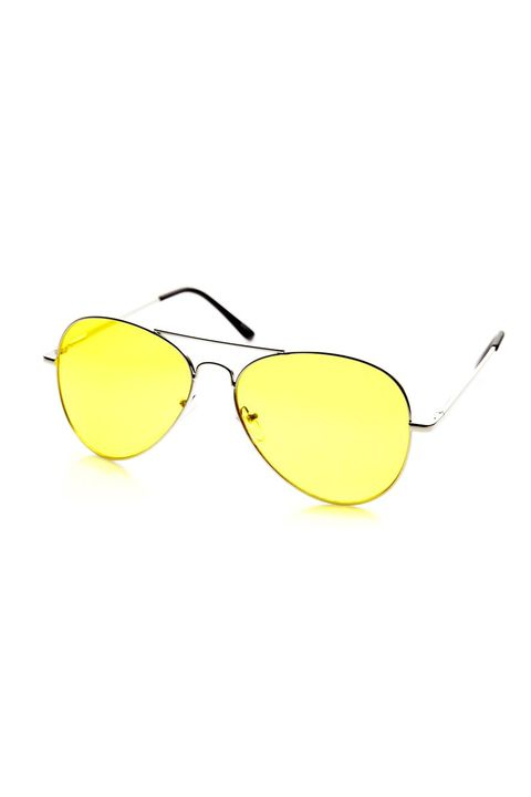 ab7ed6426e3 Trend Fix  Yellow Tinted-Lens Sunglasses