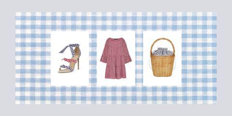 Plaid, Textile, Footwear, Linens, Tartan, Ice cream cone, Pattern, Shoe, Towel, Picnic basket,