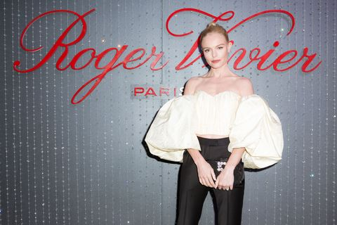 <p>At a celebration for Roger Vivier's Strass Buckle at the Proper in Hollywood on May 4, 2017.</p>