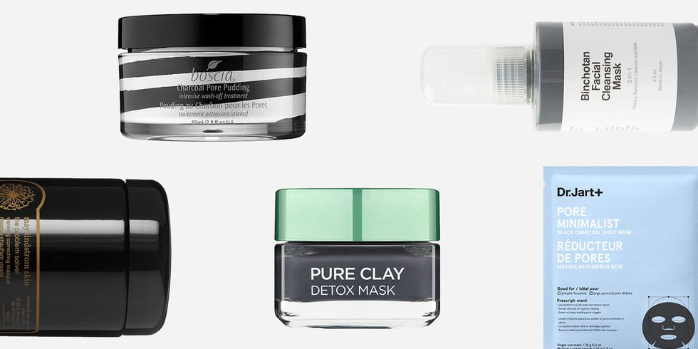 13 Charcoal Masks That Will Satisfyingly De-Gunk Your Face